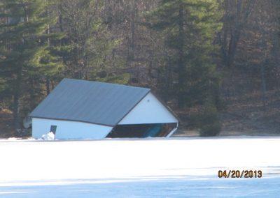 Ice damage April 20/13